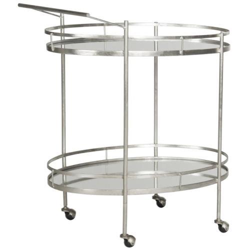 Dante Bar Cart - Silver