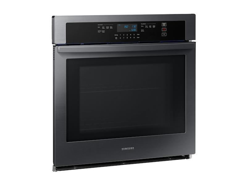 """30"""" Smart Single Wall Oven in Black Stainless Steel Photo #4"""