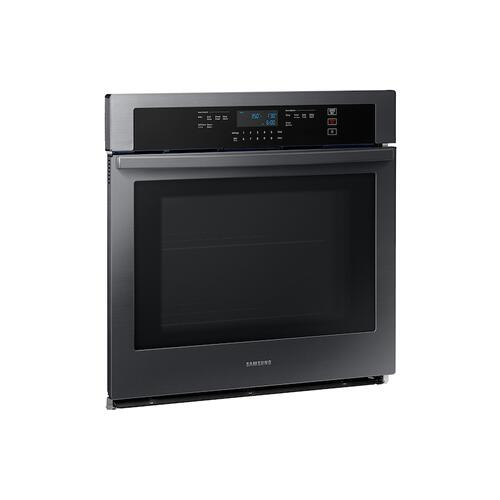 "30"" Single Wall Oven with Wi-Fi in Black Stainless Steel"