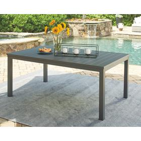Okada Rect Dining Table Gray