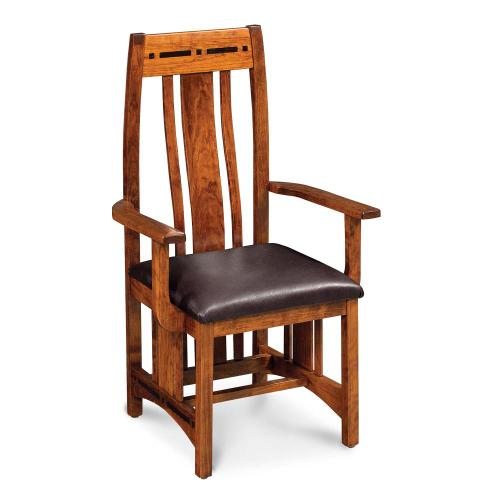 Simply Amish - Aspen Arm Chair with Lower Back - QuickShip