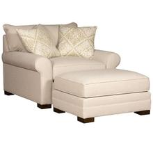 See Details - Casbah Fabric Chair & 1/2, Casbah Fabric Ottoman