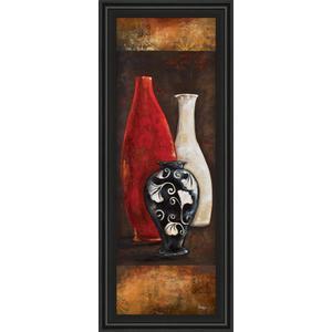 """""""Eastern Bazaar I"""" By Loretta Linza Framed Print Wall Art"""