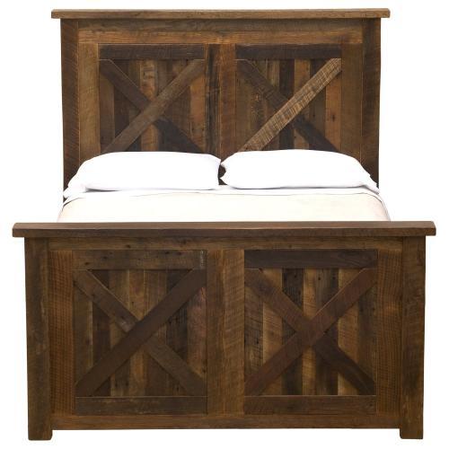 Barndoor Bed - Double