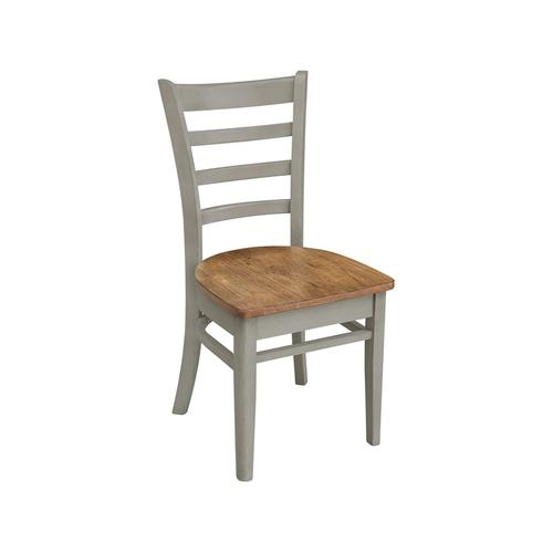 Emily Chair in Hickory Stone