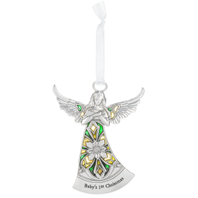 Angel Ornament - Baby's 1st Christmas
