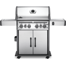 Rogue SE 525 RSIB with Infrared Side and Rear Burners , Stainless Steel , Propane