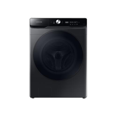 5.0 cu. ft. Extra-Large Capacity Smart Dial Front Load Washer with CleanGuard™ in Brushed Black
