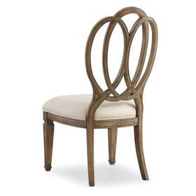 Solana Wood Back Side Chair - 2 per carton/price ea