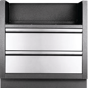 OASIS Under Grill Cabinet for BIG32 & BI32 for Built-in 500 and 700 Series 32 , Grey