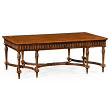 Napoleon III Style Coffee Table with Fine Inlay