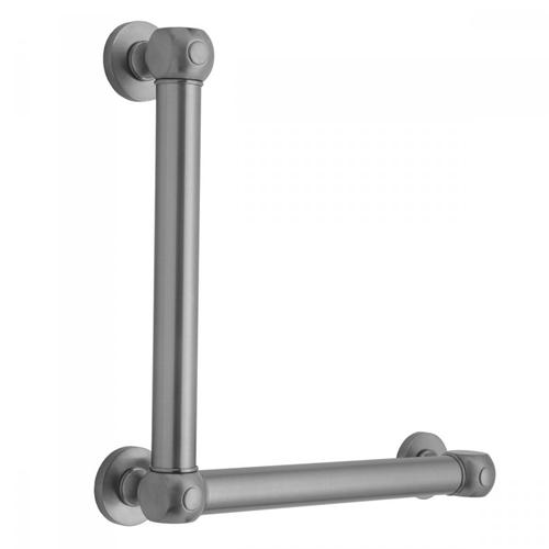 Satin Nickel - G70 12H x 16W 90° Right Hand Grab Bar