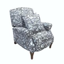 Sunset Trading Rainforest Recliner  Manual Reclining Chair  Includes Two Matching Pillows