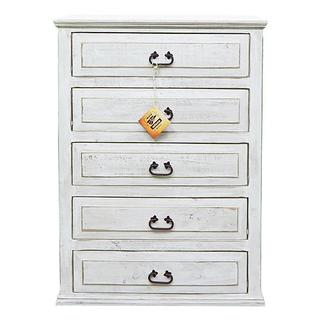 See Details - Weathered White Econo Chest