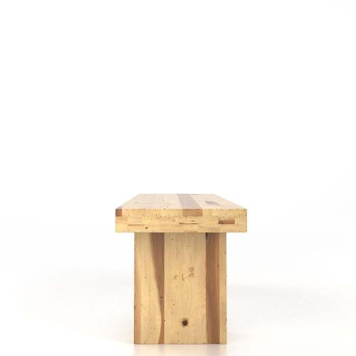 Gallery - Wooden seat bench
