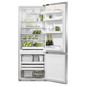 "Fisher & PaykelFreestanding Refrigerator Freezer, 25"", 13.5 cu ft, Ice & Water"
