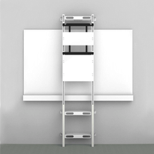 BalanceBox over-the-whiteboard floor support
