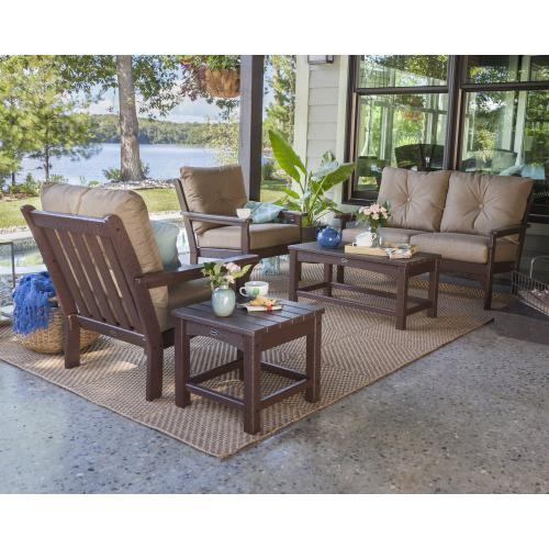 Sand & Air Blue Vineyard Deep Seating Chair