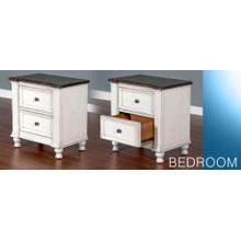 See Details - Carriage House 2 Drawer Nightstand