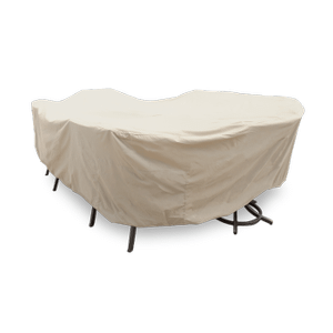 Treasure Garden - Protective Furniture Cover - Large Oval or Rectangle Table and Chairs
