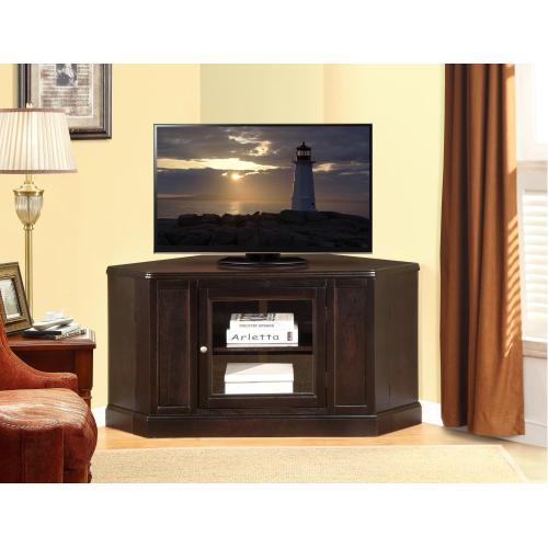 Gallery - CORNER TV STAND BLACK