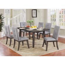 Ashland 7pc Dining Set, Grey
