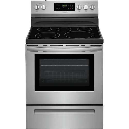 Product Image - REFURBISHED Frigidaire 30'' Electric Range. (This is a Stock Photo, actual unit (s) appearance may contain cosmetic blemishes.  Please call store if you would like actual pictures).  This unit carries our 6 month warranty, MANUFACTURER WARRANTY and REBATE NOT VALID with this item. ISI 44834
