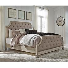 Falkhurst King/california King Upholstered Panel Headboard