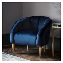 GA Tulip Chair Atlantic Velvet