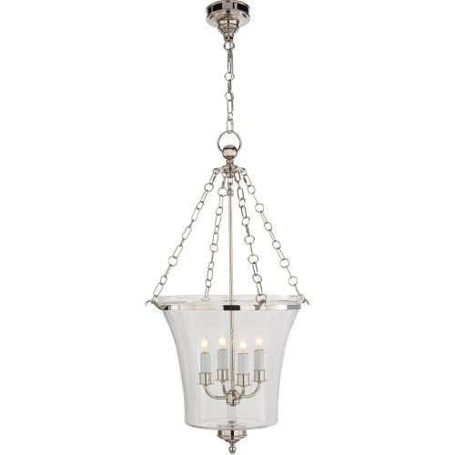 Visual Comfort CHC2210PN E. F. Chapman Sussex 4 Light 19 inch Polished Nickel Foyer Pendant Ceiling Light