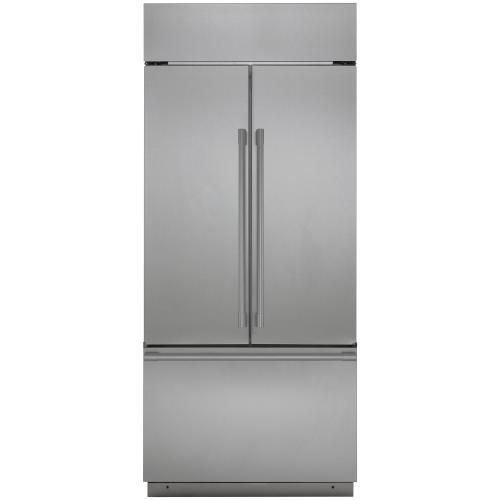 """Gallery - Monogram 36"""" Built-In French-Door Refrigerator"""
