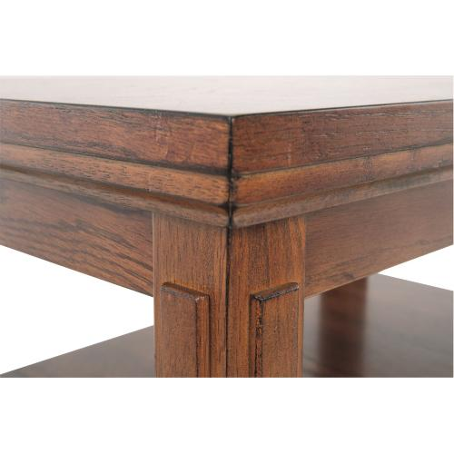 Cross Island Chairside End Table