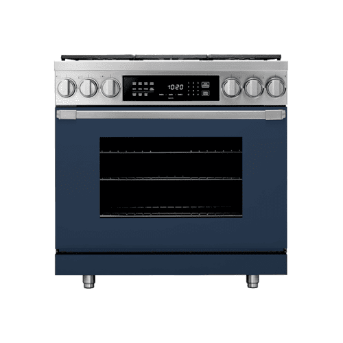 "30"" Induction Pro Range, Dark Denim, Natural Gas"
