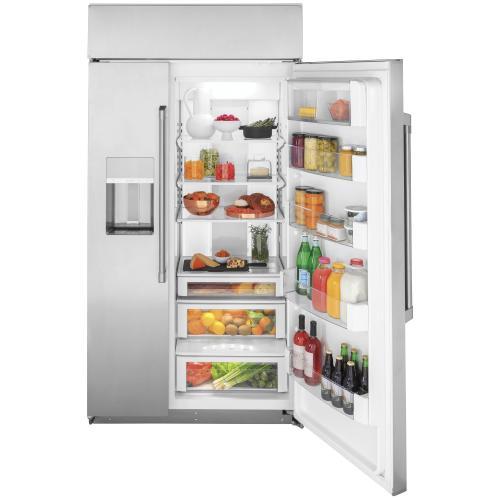 "Café 42"" Smart Built-In Side-by-Side Refrigerator with Dispenser"