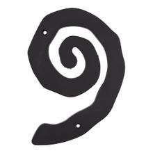 Large Scroll #9 - Matte Black