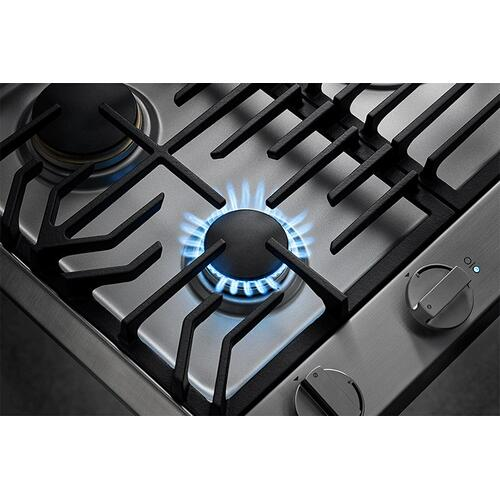 "30"" Professional Gas Cooktop, Natural Gas/High Altitude"