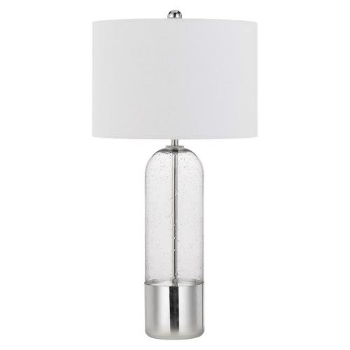 150W 3 Way Anzio Glass Table Lamp (Priced And Sold in Pairs)