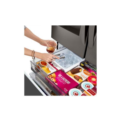LG - 30 cu. ft. Smart wi-fi Enabled Door-in-Door® Refrigerator with Craft Ice™ Maker