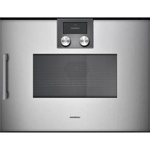 Gaggenau200 Series Combi-microwave Oven 24'' Door Hinge: Right, Door Hinge: Right, Gaggenau Metallic