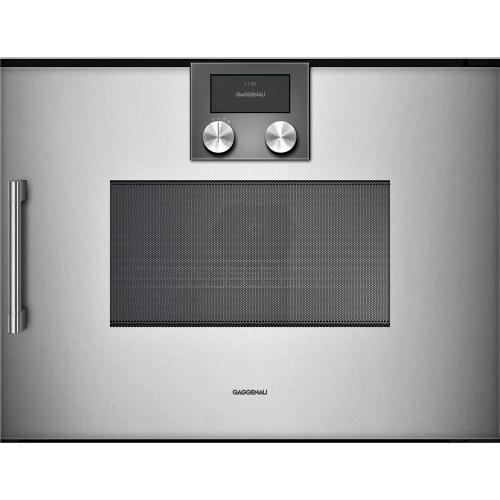 200 Series Combi-microwave Oven 24'' Door Hinge: Right, Door Hinge: Right, Gaggenau Metallic
