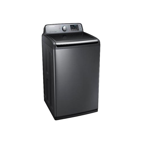 Gallery - 5.0 cu. ft. Top Load Washer with Vibration Reduction Technology in Platinum