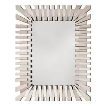 See Details - Empire Rectangle Wall Mirror With Glass Frame