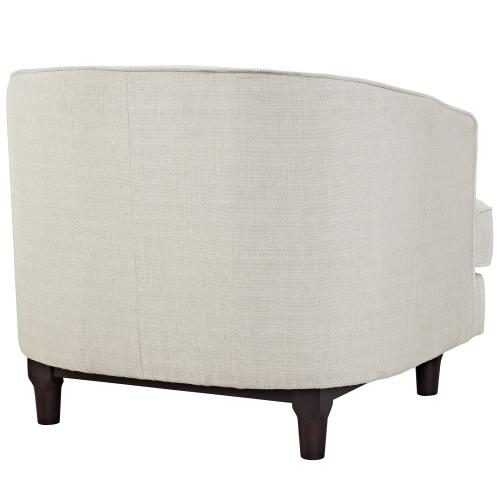 Modway - Coast Armchairs Set of 2 in Beige
