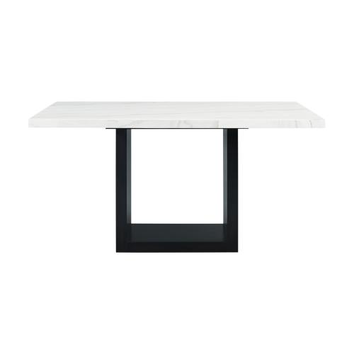 Valentino White Marble Counter Height Dining Table