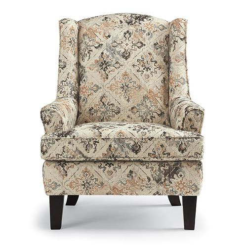 Best Home Furnishings - ANDREA Wing Back Chair