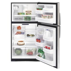 GE® ENERGY STAR® 21.7 Cu. Ft. Stainless Top-Freezer Refrigerator