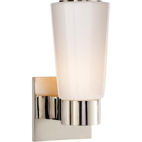 Visual Comfort BBL2105PN-WG Barbara Barry Acme 1 Light 4 inch Polished Nickel Decorative Wall Light