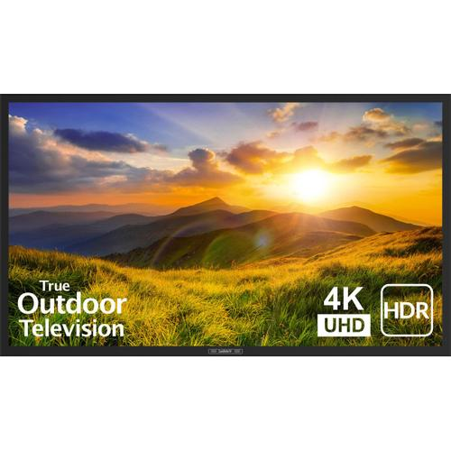"55"" Signature 2 Outdoor LED HDR 4K TV - Partial Sun - SB-S2-55-4K - Black"
