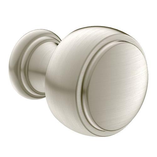Weymouth brushed nickel drawer knob