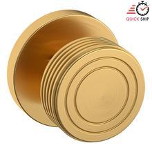 See Details - Lifetime Satin Brass 5045 Estate Knob with 5046 Rose